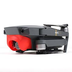 Shaluoman Lens Sun Hood Sunshade AntiGlare Camera Gimbal Protector for Mavic Pro Drone Red ** Be sure to check out this awesome product.