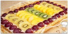 Tarta de Hojaldre con Frutas y Crema Pastelera Delicious Deserts, Yummy Food, Fruit Pie, Crazy Cakes, What To Cook, Yummy Cakes, Hot Dog Buns, Strudel, Sweet Tooth