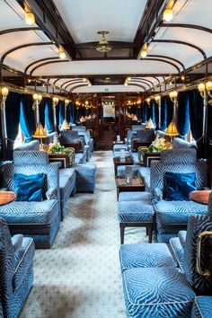 The Journey of a Lifetime Aboard Belmond's Venice Simplon-Orient-Express Places to travel 2019 Stacie Flinner Belmond Venice Simplon Orient Express Vacation Destinations, Dream Vacations, Vacation Places, Oh The Places You'll Go, Places To Travel, Venice Simplon Orient Express, Train Journey, Train Rides, Train Car