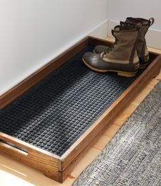 diy furniture Find the best Everyspace Recycled Waterhog Boot Mat at . Our high quality home goods are designed to help turn any space into an outdoor-inspired retreat. Do It Yourself Decoration, Do It Yourself Ideas, Home Organization, Woodworking Organization, Organizing Shoes, Garage Workshop Organization, Bathroom Organisation, Organizing Ideas, Sweet Home