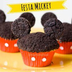 Várias ideias e inspirações para festa com o tema Mickey.