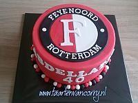 Feyenoord logo taart