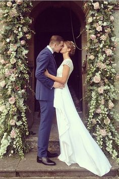Millie Mackintosh and Professor Green wedding Celebrity Wedding Photos, Celebrity Weddings, Celebrity Couples, Millie Mackintosh Wedding Dress, Wedding Bells, Wedding Flowers, Garland Wedding, Wedding Decorations, Professor Green
