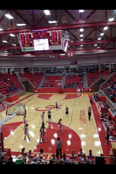 Glen Rose, Texas high school gym, a lot of towns turned down the power plant that made this possible http://www.texansunited.com/blog/what-a-difference-a-power-plant-can-make/