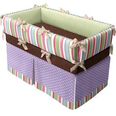 My custom #doodlefish crib bedding I created at doodlefishkids.com