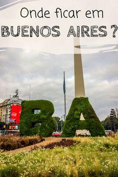 Onde ficar em Buenos Aires?  Descubra quais são os melhores bairros para se hospedar na capital argentina, as vantagens e desvantagens de cada um, e quais os pontos turísticos próximos a eles. Descubra também algumas opções de hostels e hotéis com ótimo custo x benefício para sua viagem.