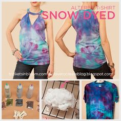 Snow and Ice Dyeing