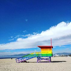 Baywatch rainbow edition  #MContheroad #Venicepride #Venicebeach #lgbtqia #lgbtrights #rainbow #beachlife #baywatch #californialove via MARIE CLAIRE ITALIA MAGAZINE OFFICIAL INSTAGRAM - Celebrity  Fashion  Haute Couture  Advertising  Culture  Beauty  Editorial Photography  Magazine Covers  Supermodels  Runway Models
