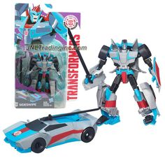 Hasbro Year 2015 Clash of the Transformers Series Exclusive Warriors Class 5 Inch Tall Robot Action Figure - Autobot SIDESWIPE with Sword (Vehicle Mode: Sports Car)