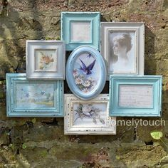 EBAY homegiftcompany Vintage-Style-Photo-Frame-Multi-Picture-Collage-Frames-Shabby-Chic-Heart-Frames