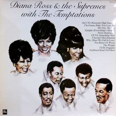 DIANA ROSS & THE SUPREMES WITH THE TEMPTATIONS - (Pickwick TMS 3513) Vinyl | Music