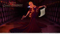 Disney version of Cersei Lannister - Game Of Thrones Memes