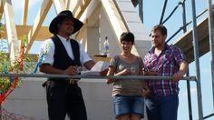 #Schnappschuss vom #Richtfest eines #Lichthaus in Schönefelde! Herzlichen Glückwunsch an die Bauherren!
