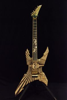"Jackson Custom Shop Extreme Warrior Mike Learn ""Pharaoh"" Graphic"