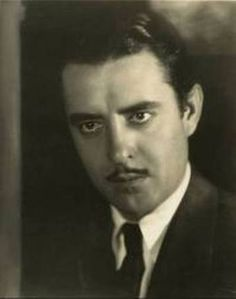 """John Gilbert, (1897-1936), rose to fame during the silent film era and became a popular leading man known as """"The Great Lover."""