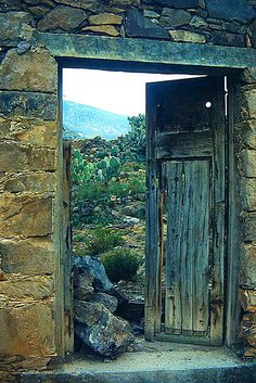 Real de Catorce (color) by Gruenemann, via Flickr