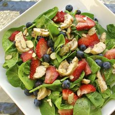 Paula's Plate: Panera's Strawberry Poppyseed Salad - Copycat Recipe