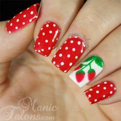 http://www.manictalons.com/2014/08/sweet-summer-strawberries-with-gelaze-strawberry-fields.html - Strawberries with Gelaze Strawberry Fields