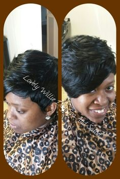 #NaturalHair #UpDo #weave #shortcuts #FullWeave #quickweave #vixen  Lovely Willie Day Spa And Salon Call 910-381-9114