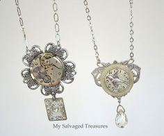 My Salvaged Treasures: repurposed jewelry .