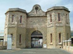 fremantle prison, although it may be a plain building it is a prime representation of our original perth architecture