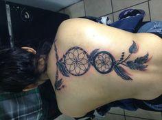 My first tattoo; dream catcher <3