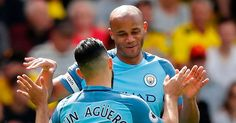 Guardiola's side thrashed Watford at Vicarage Road but he insisted they remain a long way off the likes of Real and Barcelona