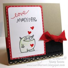 Using Paper Smooches Falling For You and Pretty Phrases Stamp Sets