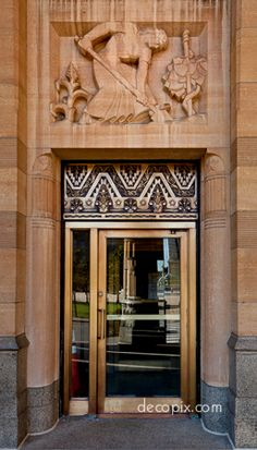 Door, City Hall, Buffalo, New York