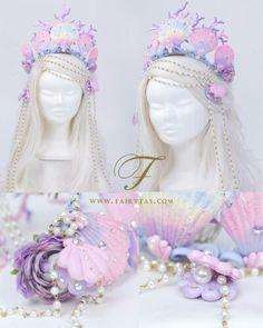 Mermaid crown www.fairytas.com