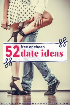 When we have been in a relationship a while, dating sort of gets forgotten. Here are 52 free or cheap date ideas, so you can have one each week!