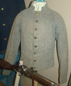 Archibald Smith's jacket conforms with other jackets thought to be Georgia State uniforms. Smith served with the Georgia Military Institute Corps of Cadets against Sherman's armyPicture
