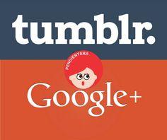 Pendientera: Pendientera en Google+ y Tumblr