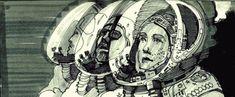 Awesome ALIEN Storyboard Art from Ridley Scott — GeekTyrant