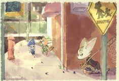 Little Fox, Zootopia, Disney Fan Art, Disney And Dreamworks, Comics, Disney Princess, Painting, Twitter, Ideas