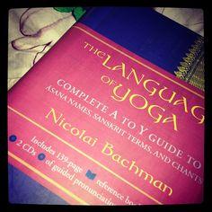 Bedtime reading #yoga #sanskrit #read