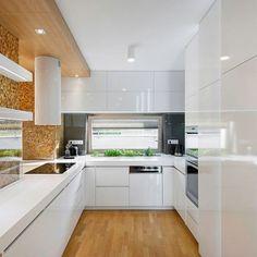 Kuchyně - fotogalerie a inspirace - Favi.cz Kitchen Cabinets, Architecture, Design, Home Decor, Cooking, House, Arquitetura, Decoration Home, Room Decor