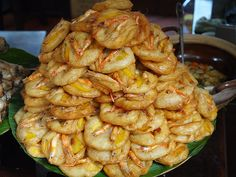 Fried shrimp specialty Vine Tom BANH TOM Hanoi