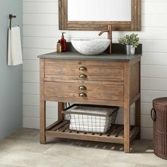 With Optional Mirror Need to check dimensions. Thinking something like this for the powder room