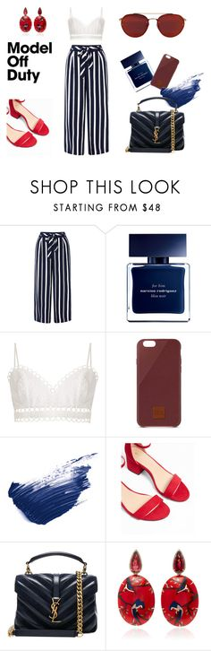 """Untitled #33"" by ashpiration ❤ liked on Polyvore featuring Monsoon, Narciso Rodriguez, Zimmermann, Native Union, By Terry, Express, Yves Saint Laurent and Silvia Furmanovich"