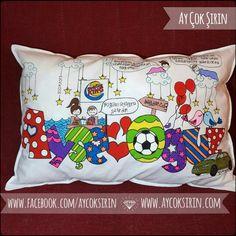 name pillow