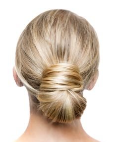 The perfect messy bun will live on forever, but this low bun may steal its thunder!