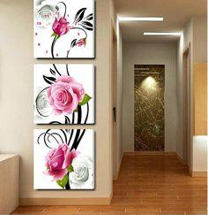 Image result for tige de fleur fantaisiste peinture
