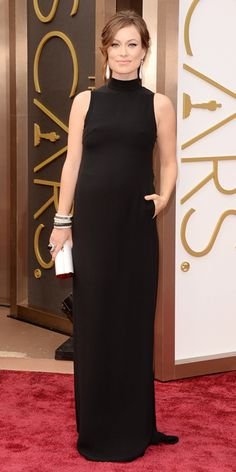 Oscars 2014 Red Carpet Arrivals - Olivia Wilde from #InStyle