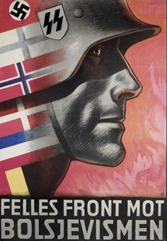 #1 Northern Countries - Imgur Scandinavian SS recruitment poster