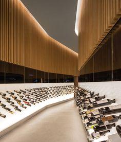 Cool wine cave!