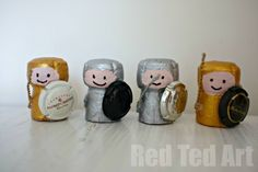 Cork Crafts – Knights #Craft, #Kids