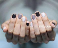 Nails nail designs nail art nails acrylic sns nails sns nails colors sns n Sns Nails Colors, Fall Nail Colors, Nail Polish Colors, Nails Polish, Gel Nails, Nice Nail Colors, Shellac, One Color Nails, Different Color Nails