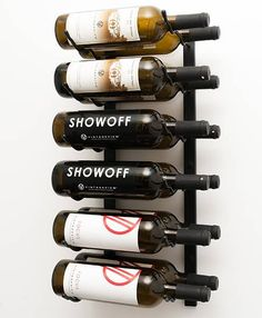 VintageView WS22 - 12 Bottle Wine Rack  The brand new 2-foot Wall Series option is perfect for just about any place limited by height, including wet bars, kitchen countertops and pantries. As with our entire Wall Series offerings, these new racks are stackable and may be cut, #wineracks