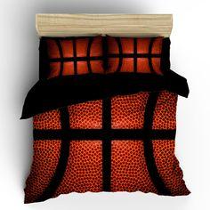 Custom Basketball bedding background basketball by redbeauty